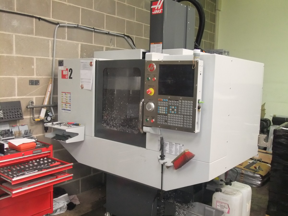 Introducing The Haas Mini Mill 2 Milling Machine Rise Of